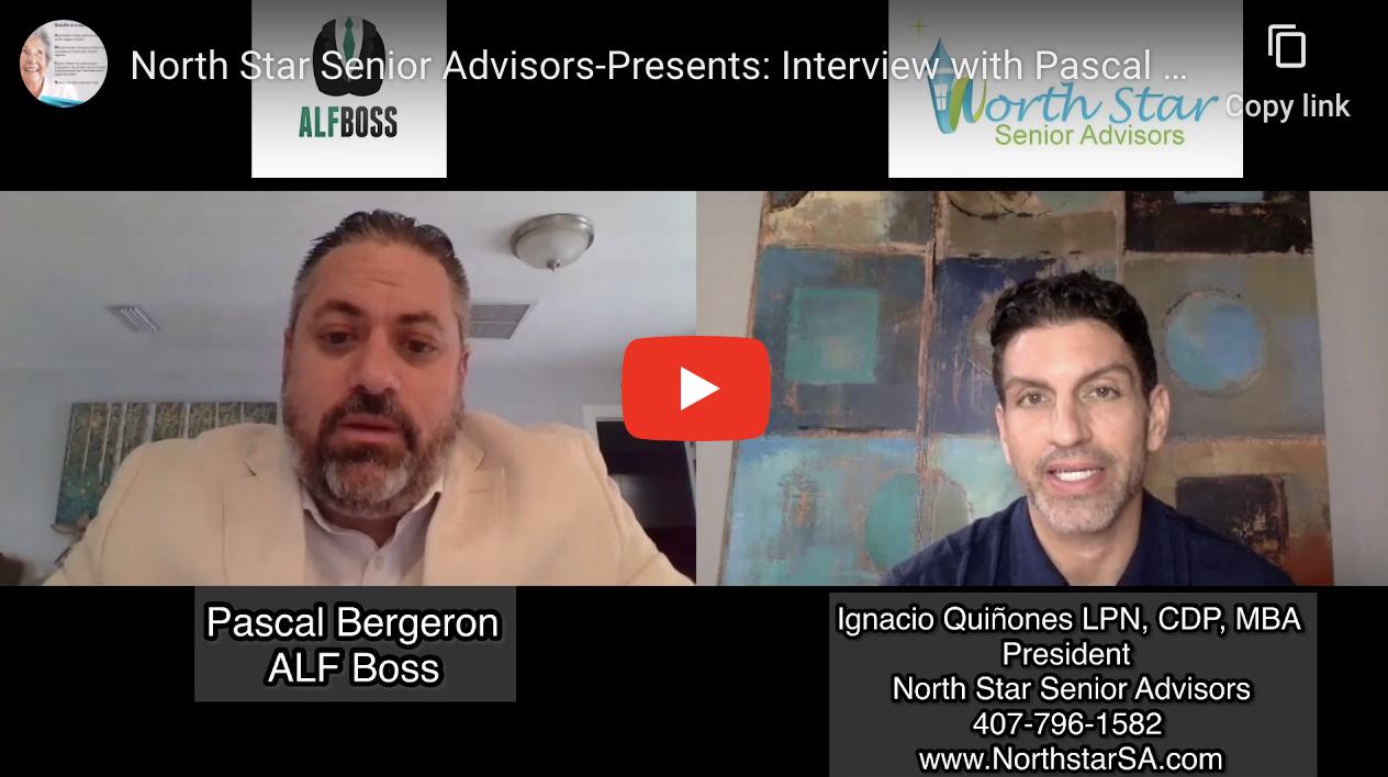 "North Star Senior Advisors-Presents: Interview with Pascal Bergeron aka ""ALF Boss"""