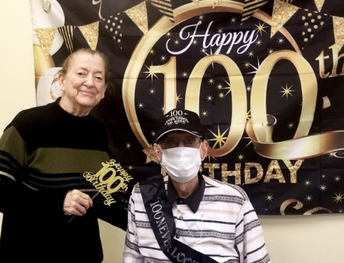 Joe Celebrates 100th Birthday at Excellence Senior Living in Orlando!
