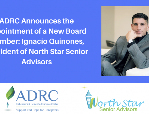 Alzheimer's Caregiver Resource Group Announces the Appointment of a New Board Member: Ignacio Quinones